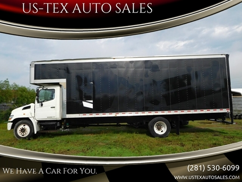 2008 Hino 258 for sale in Houston, TX
