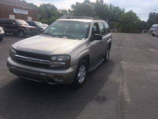 2002 Chevrolet TrailBlazer for sale in Burlington, NJ