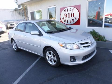 2011 Toyota Corolla for sale in Mesa, AZ