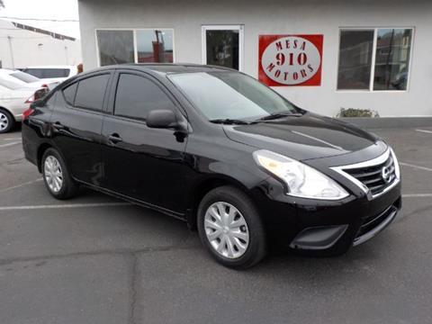 2015 Nissan Versa For Sale In Mesa AZ