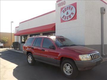 2002 Jeep Grand Cherokee for sale in Mesa, AZ