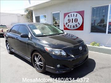 2010 Toyota Corolla for sale in Mesa, AZ
