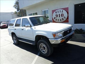 1993 Toyota 4Runner for sale in Mesa, AZ