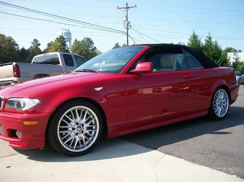 2005 BMW 3 Series for sale at Cambria Cars in Mooresville NC
