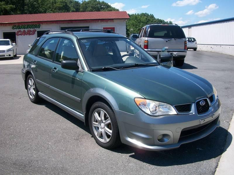 2007 Subaru Impreza Awd Outback Sport Special Edition 4dr Wagon 25