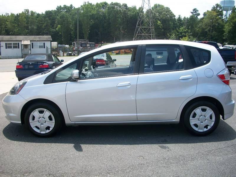 2012 Honda Fit 4dr Hatchback 5A   Mooresville NC