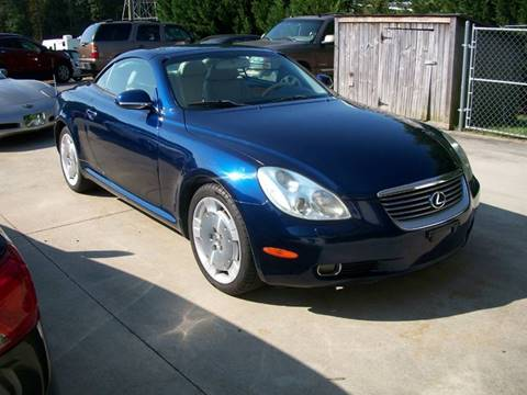 2002 Lexus SC 430 for sale in Mooresville, NC