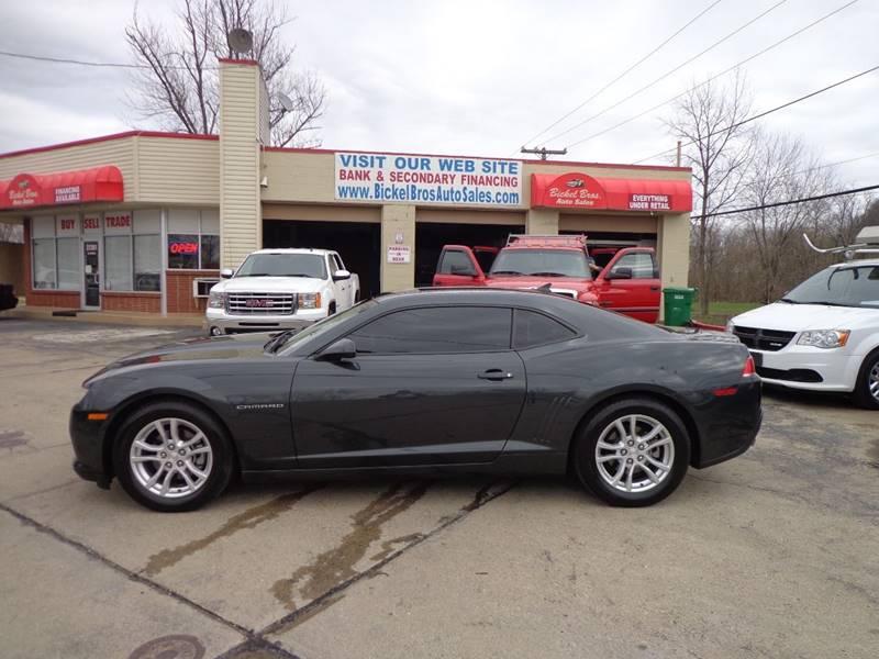 2014 Chevrolet Camaro LS 2dr Coupe w/2LS In Louisville KY - Bickel ...
