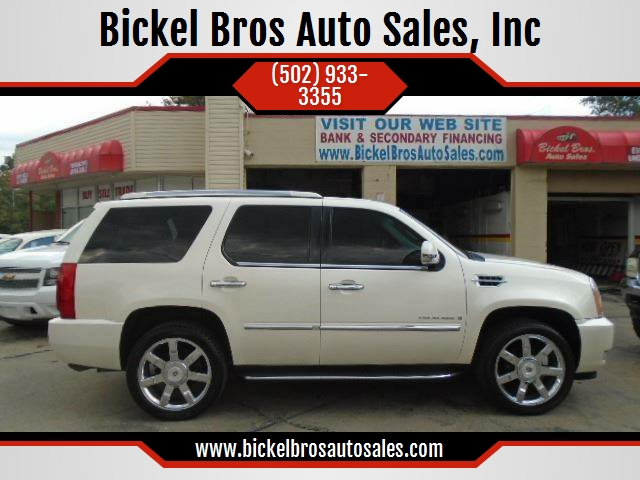 2009 Cadillac Escalade In Louisville Ky Bickel Bros Auto Sales Inc
