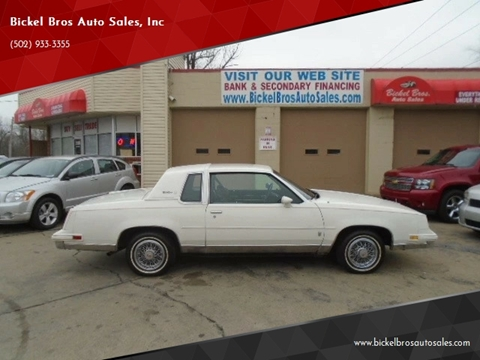 Cars For Sale In Louisville Ky >> 1986 Oldsmobile Cutlass Supreme For Sale In Louisville Ky