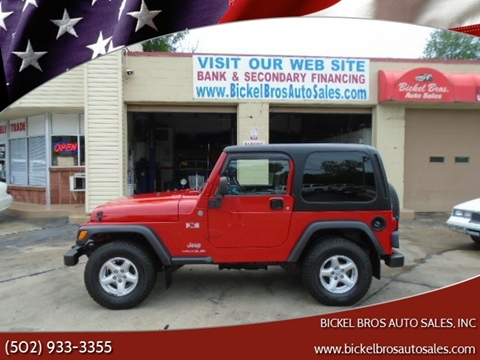 2004 Jeep Wrangler for sale in Louisville, KY