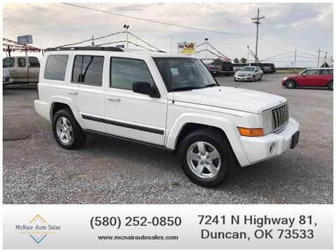 2007 Jeep Commander for sale in Duncan, OK