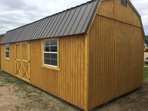 2017 OLD HICKORY BUILDINGS SIDE LOFTED BARN