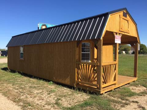 2017 OLD HICKORY BUILDINGS DELUXE LOFTED PLAYHOUSE for sale at Krantz Motor City in Watertown SD