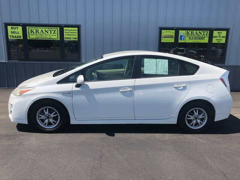 2010 Toyota Prius for sale at Krantz Motor City in Watertown SD