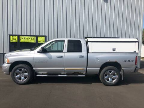 2005 Dodge Ram Pickup 1500 for sale at Krantz Motor City in Watertown SD