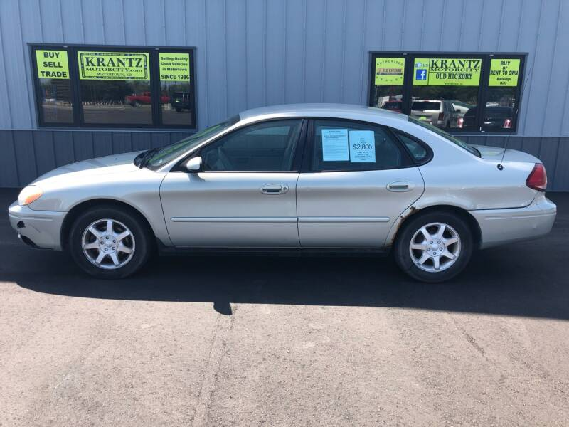 2007 Ford Taurus for sale at Krantz Motor City in Watertown SD