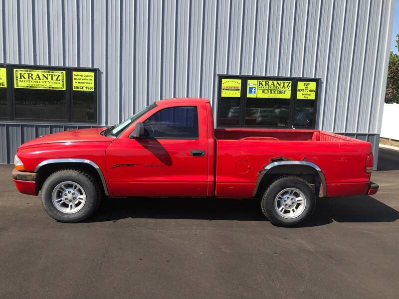 2000 Dodge Dakota for sale at Krantz Motor City in Watertown SD
