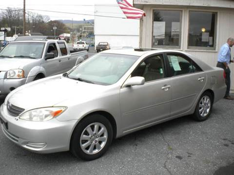 2002 Toyota Camry for sale at Ben Edwards Auto in Waynesboro VA