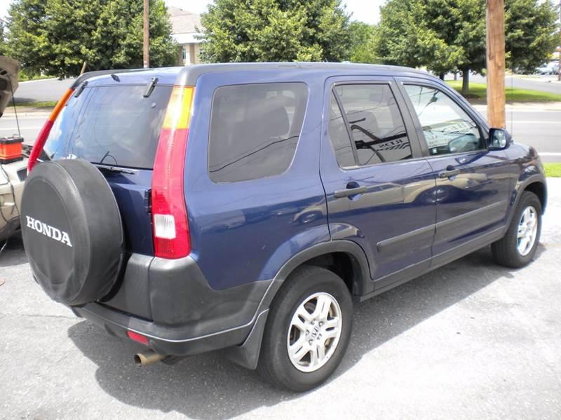 2002 Honda CR-V AWD EX 4dr SUV - Waynesboro VA