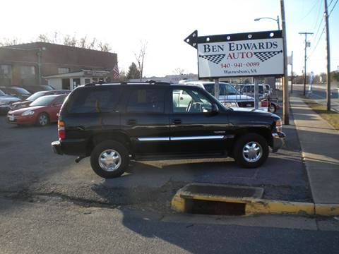 2002 GMC Yukon for sale in Waynesboro, VA