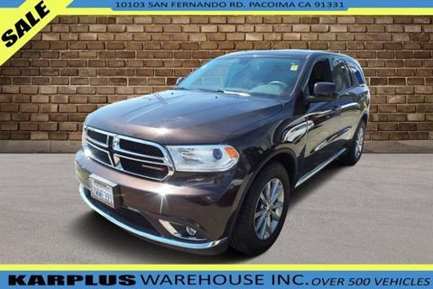 2017 Dodge Durango For Sale >> 2017 Dodge Durango For Sale In Pacoima Ca