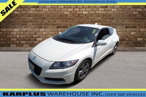 2013 Honda CR-Z for sale in Pacoima, CA
