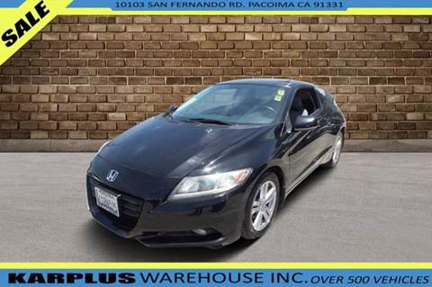 2011 Honda CR-Z for sale in Pacoima, CA