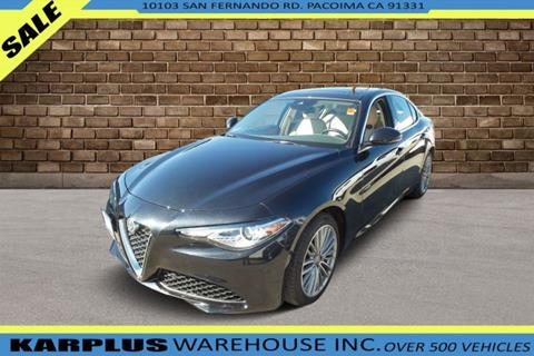 2017 Alfa Romeo Giulia for sale in Pacoima, CA