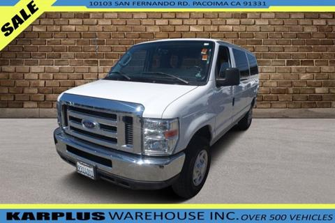 2014 Ford E-Series Wagon for sale in Pacoima, CA