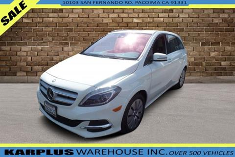 2016 Mercedes-Benz B-Class for sale in Pacoima, CA