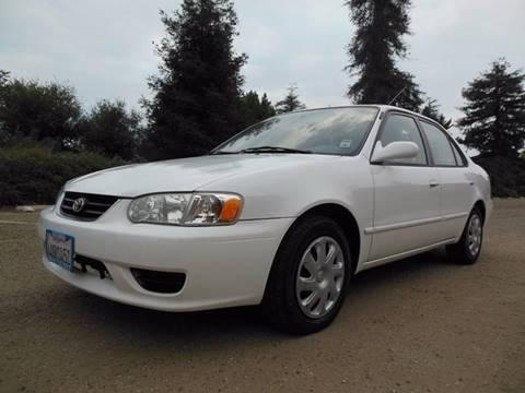 2002 Toyota Corolla for sale at Santa Barbara Auto Connection in Goleta CA