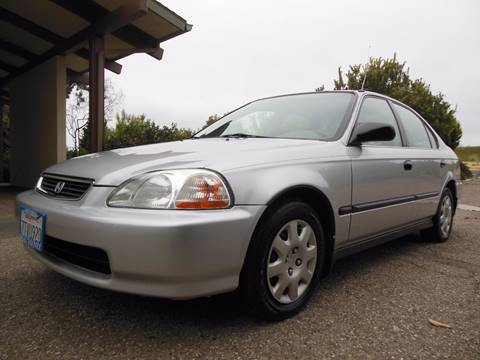1998 Honda Civic for sale at Santa Barbara Auto Connection in Goleta CA
