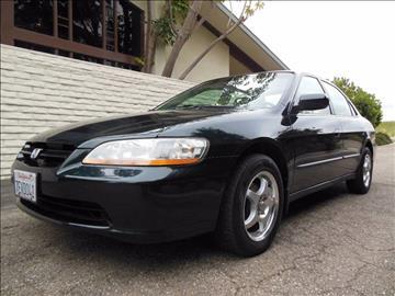 1998 Honda Accord for sale at Santa Barbara Auto Connection in Goleta CA