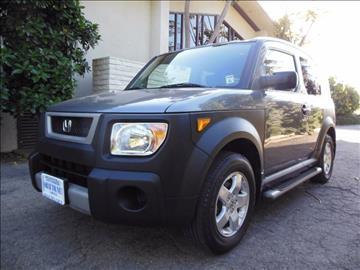 2005 Honda Element for sale at Santa Barbara Auto Connection in Goleta CA
