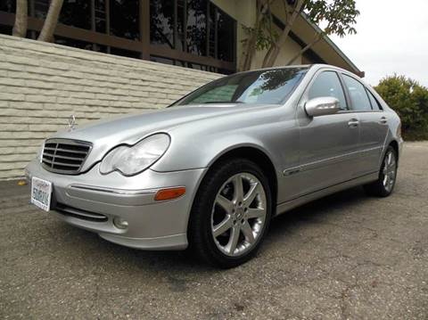 2004 Mercedes-Benz C-Class for sale at Santa Barbara Auto Connection in Goleta CA
