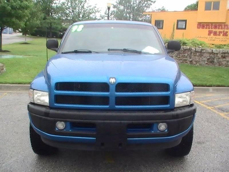 1998 Dodge Ram Pickup 1500 2dr ST 4WD Standard Cab SB - Bonner Springs KS