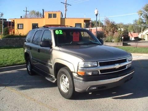 2002 Chevrolet Tahoe for sale in Bonner Springs, KS