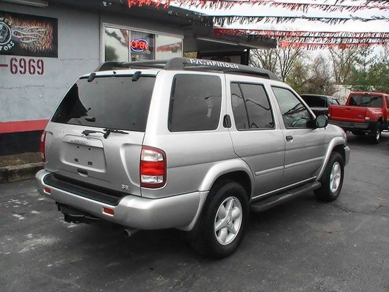 2002 Nissan Pathfinder Se 4wd 4dr Suv In Bonner Springs Ks Midwest Motors