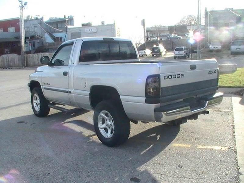 2001 Dodge Ram Pickup 1500 Slt 2dr Standard Cab 4wd Sb In Bonner Springs Ks Midwest Motors 215