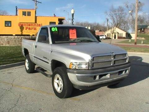 2001 Dodge Ram Pickup 1500 for sale at Midwest Motors 215 Inc. in Bonner Springs KS