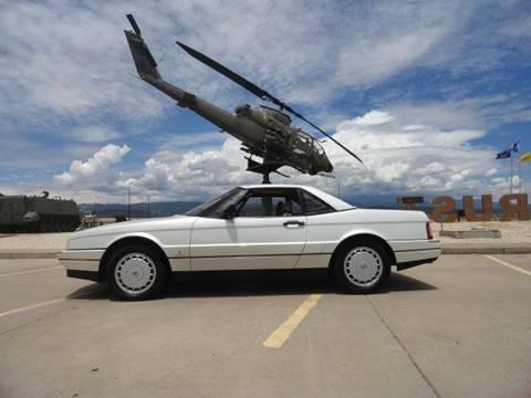 1991 Cadillac Allante for sale in Penrose, CO