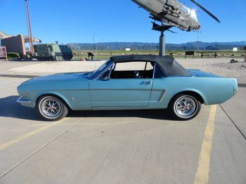 1965 Ford Mustang for sale at Pikes Peak Motor Co in Penrose CO