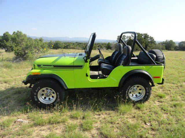 1976 Jeep CJ-5 for sale at Pikes Peak Motor Co in Penrose CO
