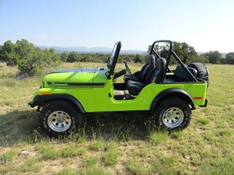 1976 Jeep CJ-5 for sale in Penrose, CO