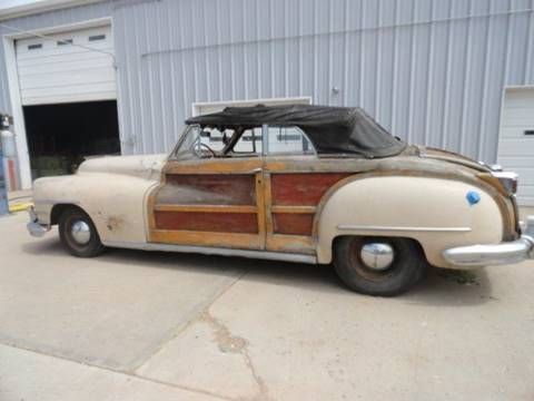 1946 Chrysler Town and Country for sale at Pikes Peak Motor Co in Penrose CO