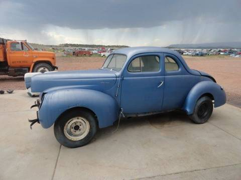 1940 Ford Coupe for sale at Pikes Peak Motor Co in Penrose CO