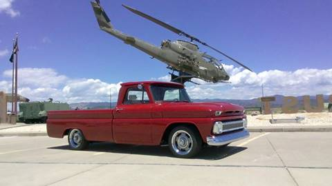 1966 Chevrolet C/K 10 Series for sale at Pikes Peak Motor Co in Penrose CO