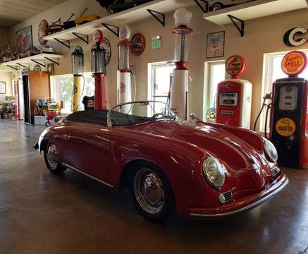 2006 Beck 1956 porsche speedster for sale at Pikes Peak Motor Co in Penrose CO