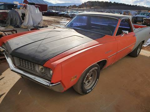 1971 Ford Ranchero for sale at Pikes Peak Motor Co in Penrose CO